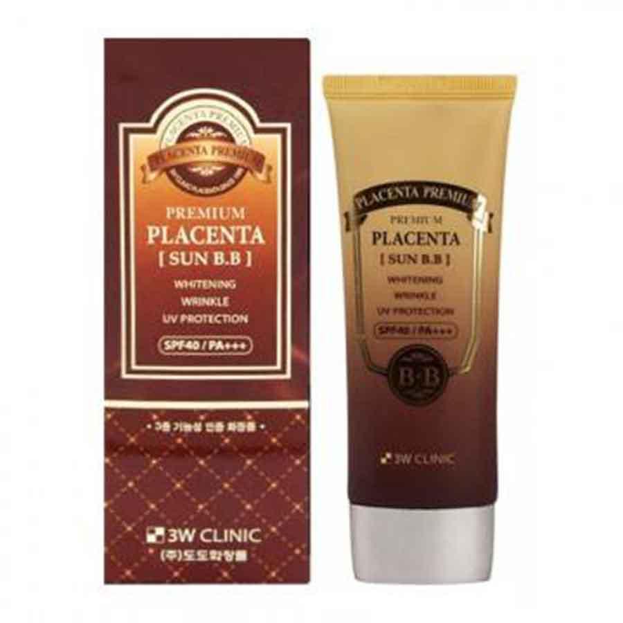 Солнцезащитный ББ-крем для лица с плацентой