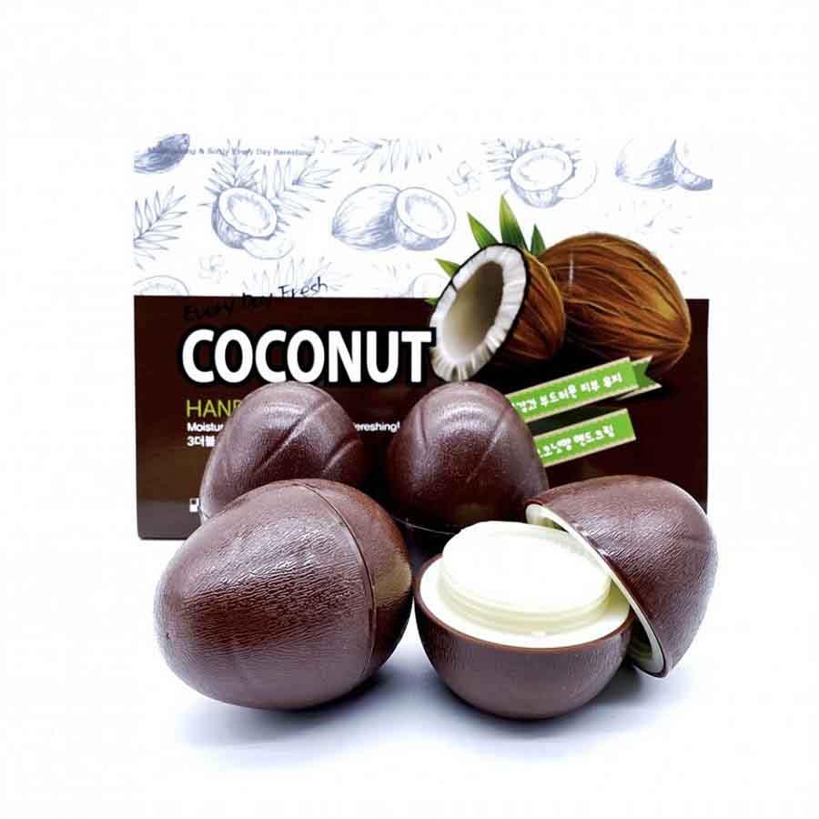 Увлажняющий крем для рук с кокосом