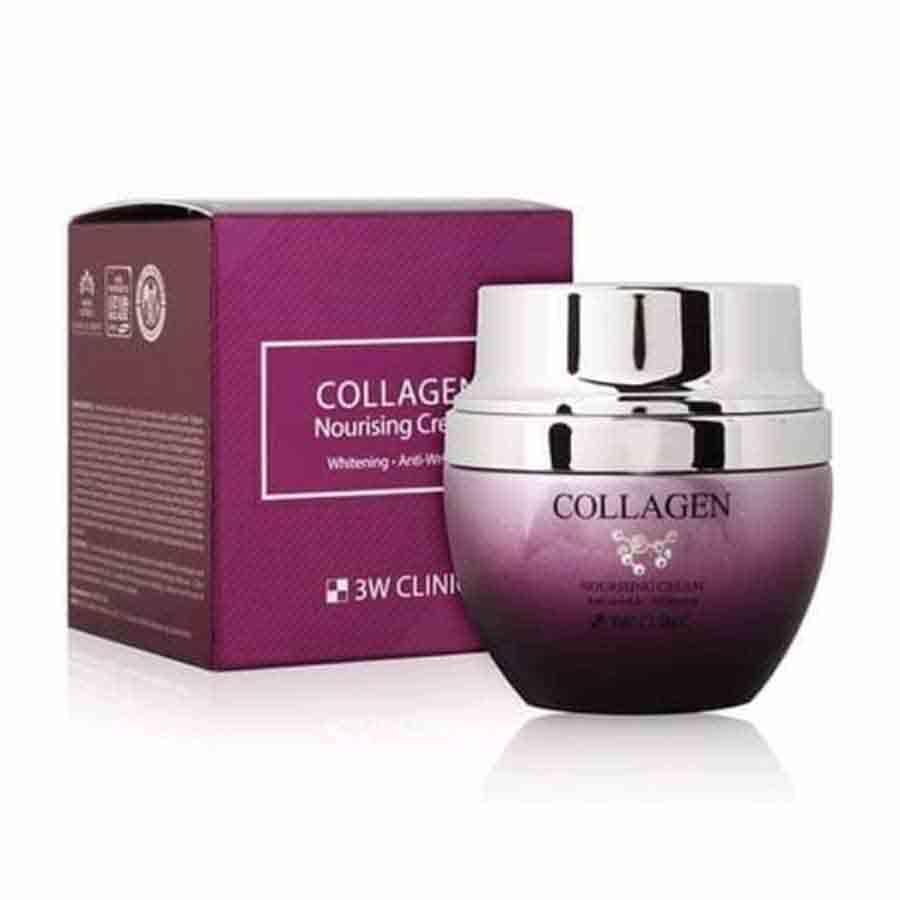 3W CLINIC Collagen Nourishing Cream