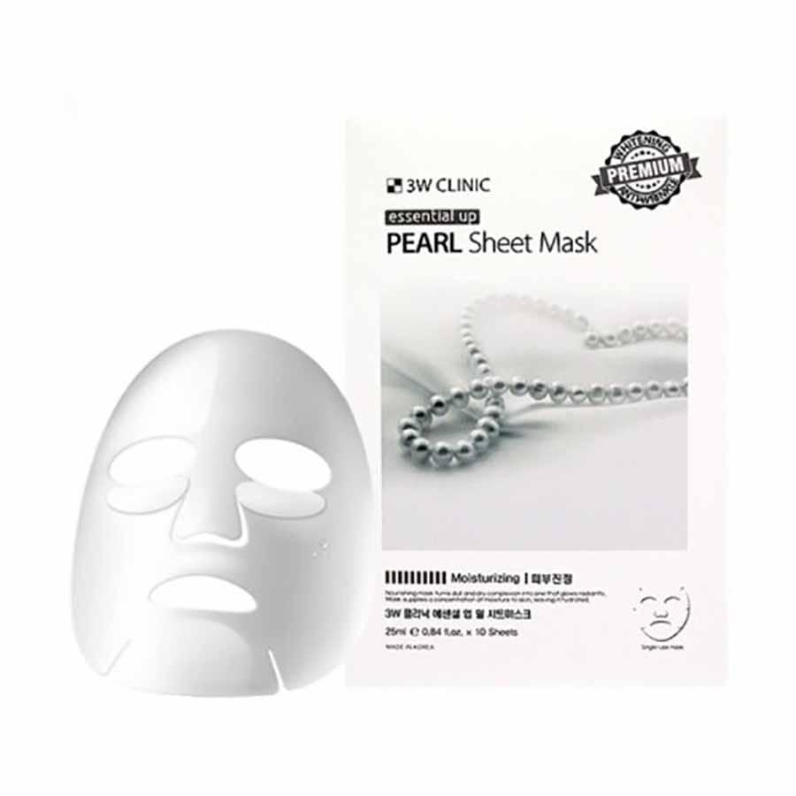 Тканевая маска с экстрактом жемчуга