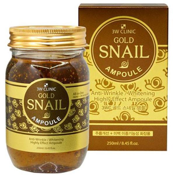 3W CLINIC Gold Snail Ampoule