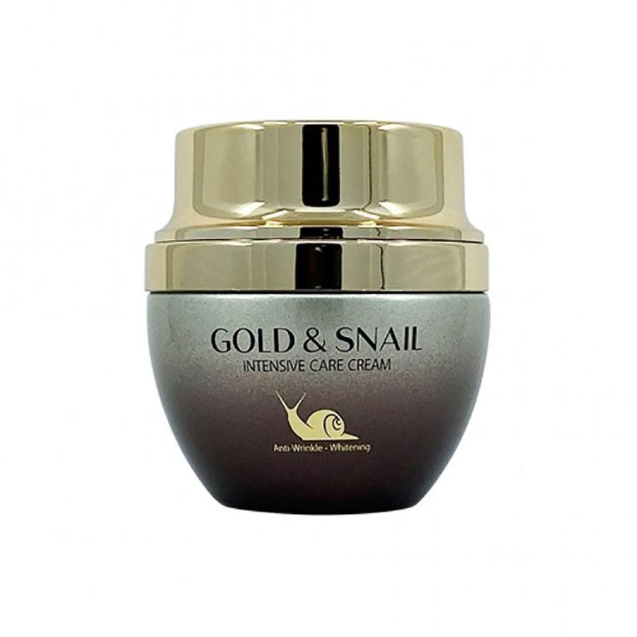 3W CLINIC Gold & Snail Intensive Care Cream