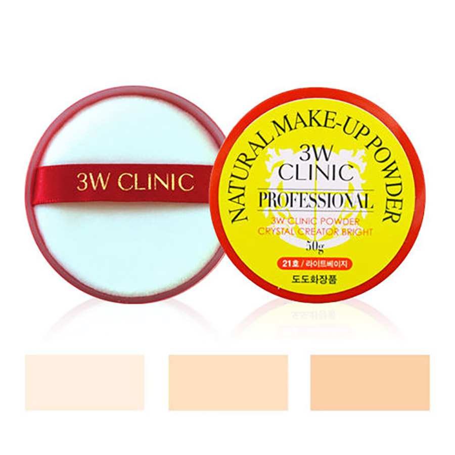 3W CLINIC Professional Natural Makeup Powder Crystal Creator Bright #23