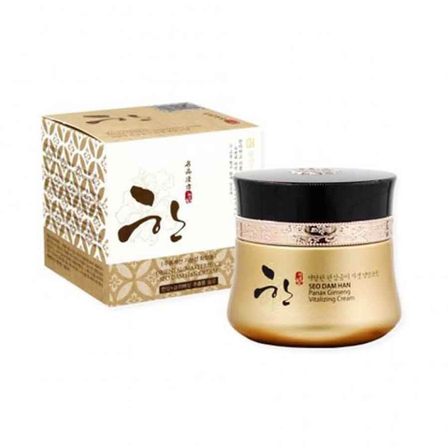 3W CLINIC SEO DAM HAN Panax Ginseng Vitalizing Cream