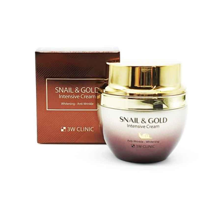 3W CLINIC Snail & Gold Intensive Cream