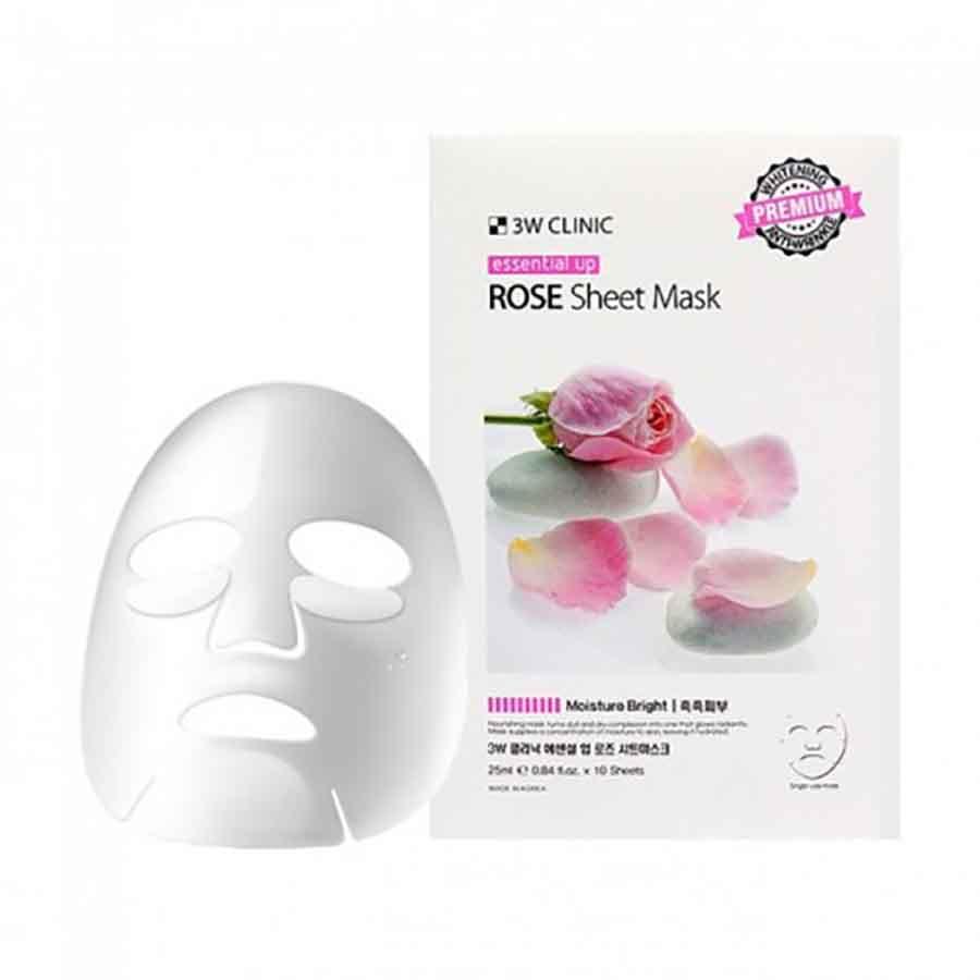 Тканевая маска с экстрактом розы