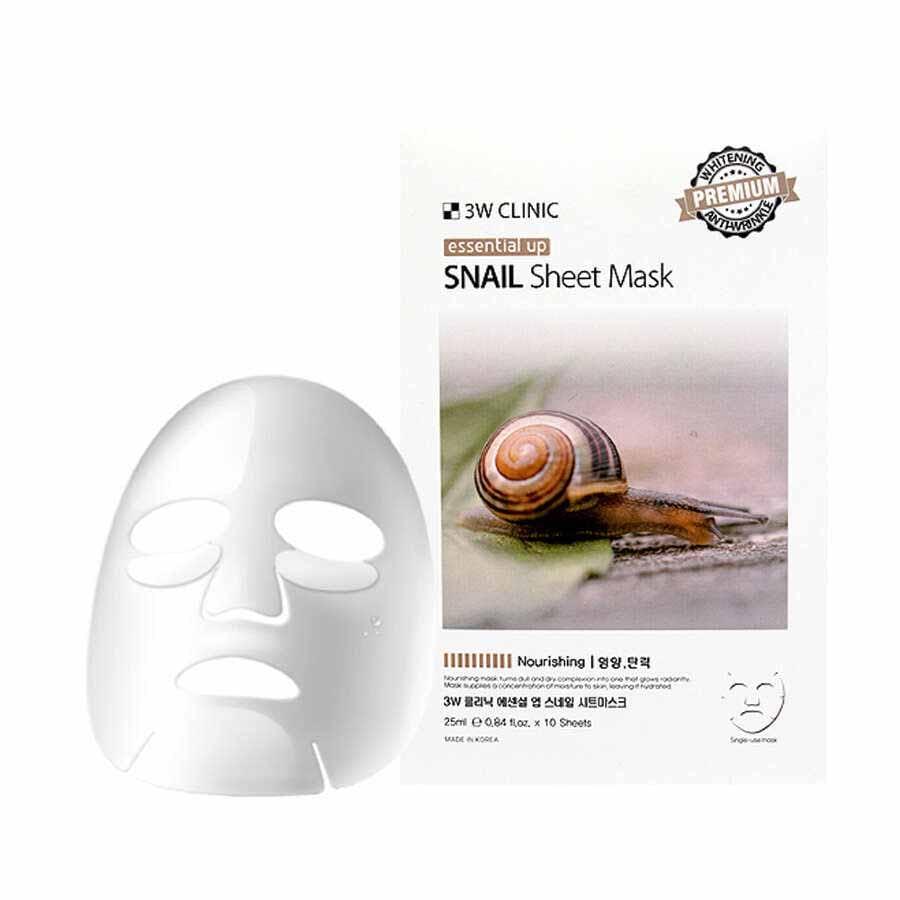 Тканевая маска с улиточным муцином
