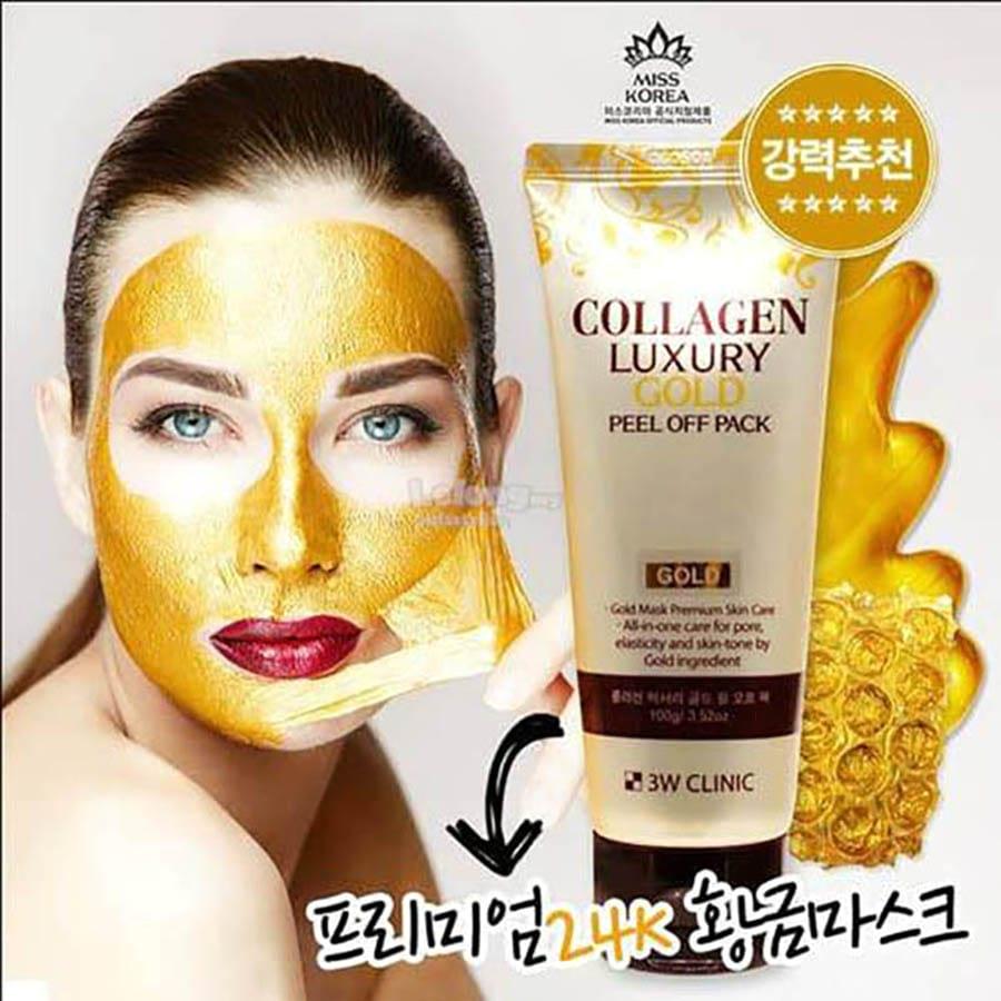 Золотая омолаживающая маска-плёнка