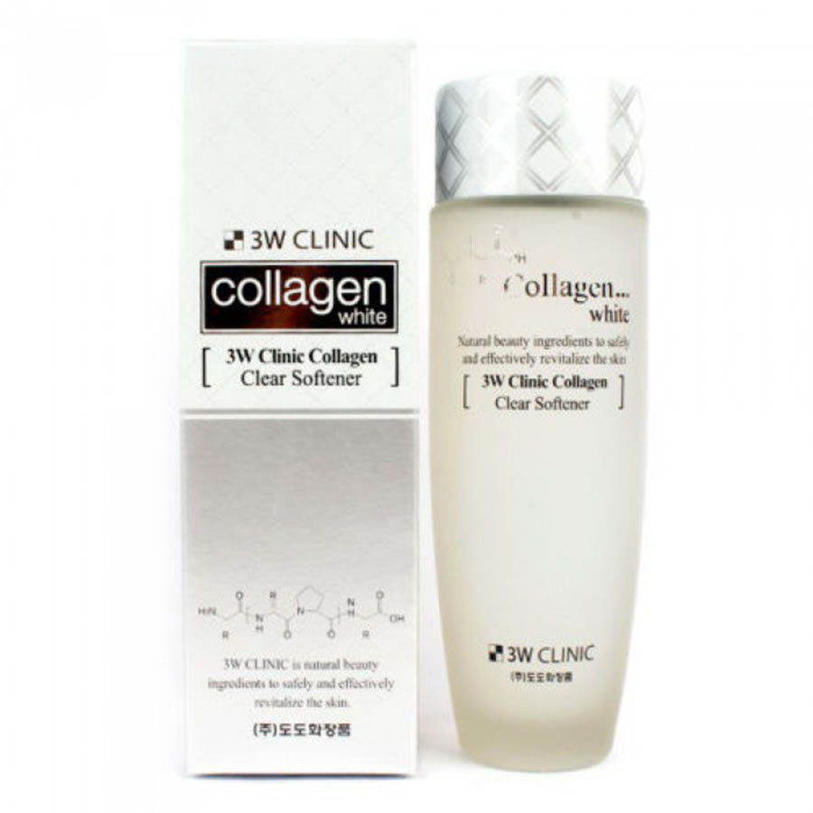 3W CLINIC Collagen White Clear Softener