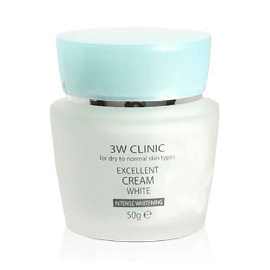3W CLINIC Excellent Cream White