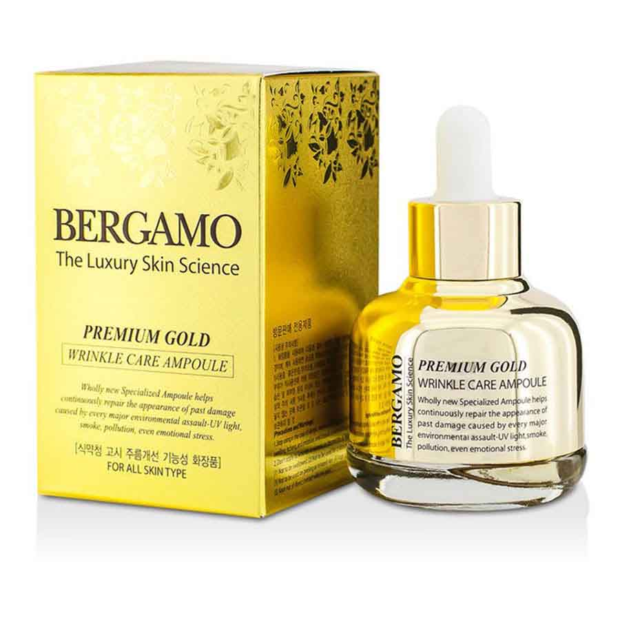 Bergamo The Luxury Skin Science Premium Gold Wrinkle Care Ampoule