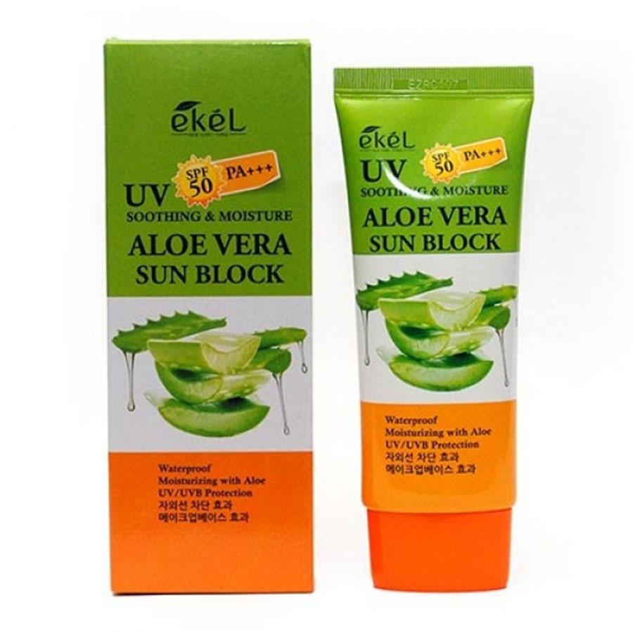 EKEL Soothing & Moisture Aloe Vera Sun Block SPF50/PA+++