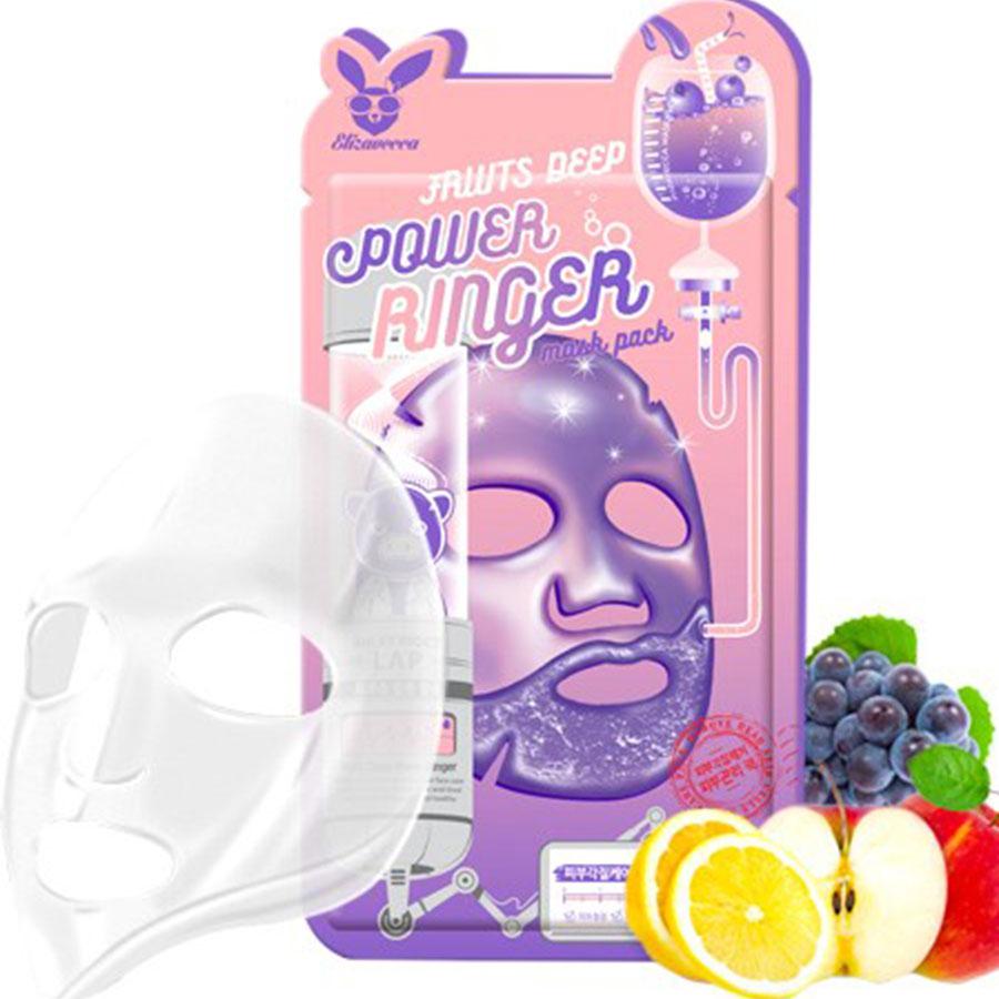 Тонизирующая фруктовая тканевая маска