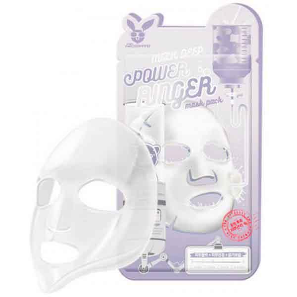 Тканевая маска молочно-цветочная для обновления клеток