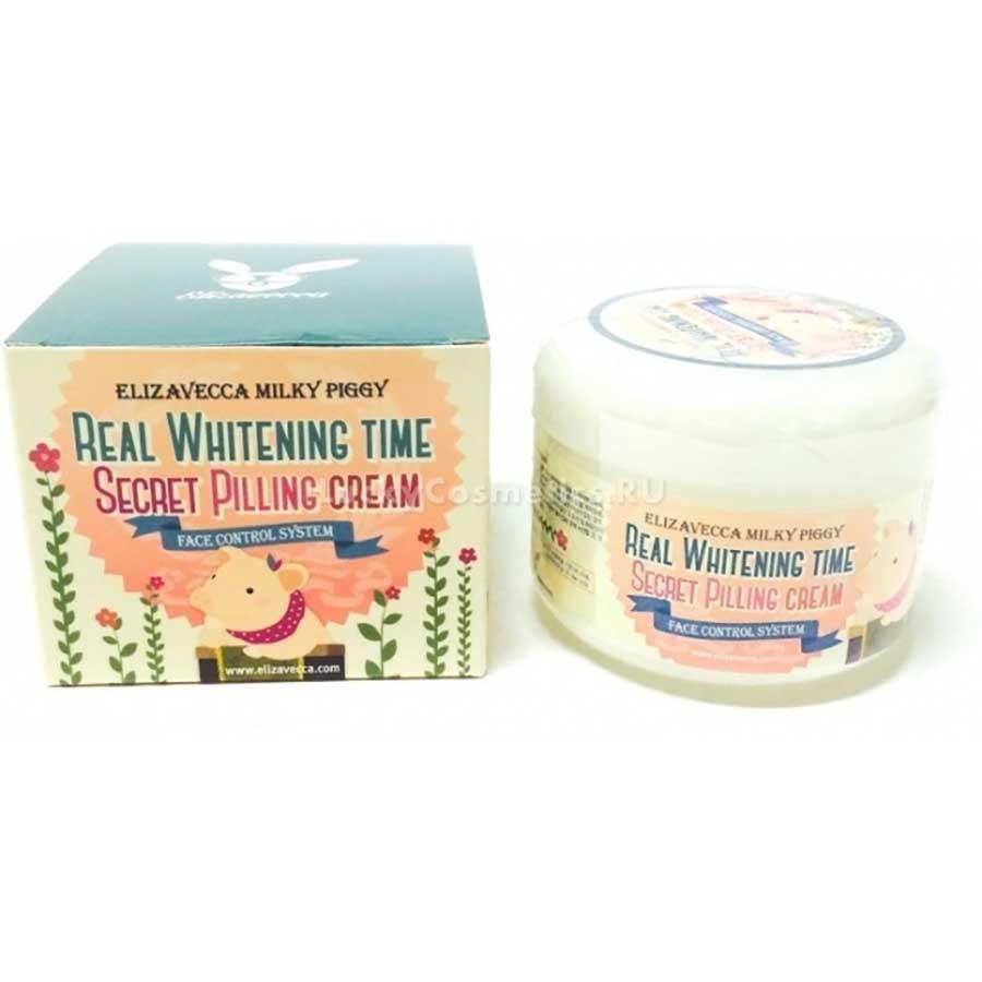 Elizavecca Milky Piggy Real Whitening Time Secret Pilling Cream 1978