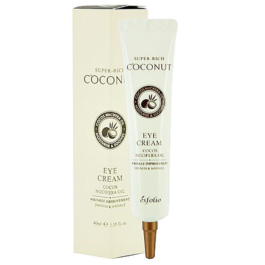 Питательный крем для век с кокосовым маслом