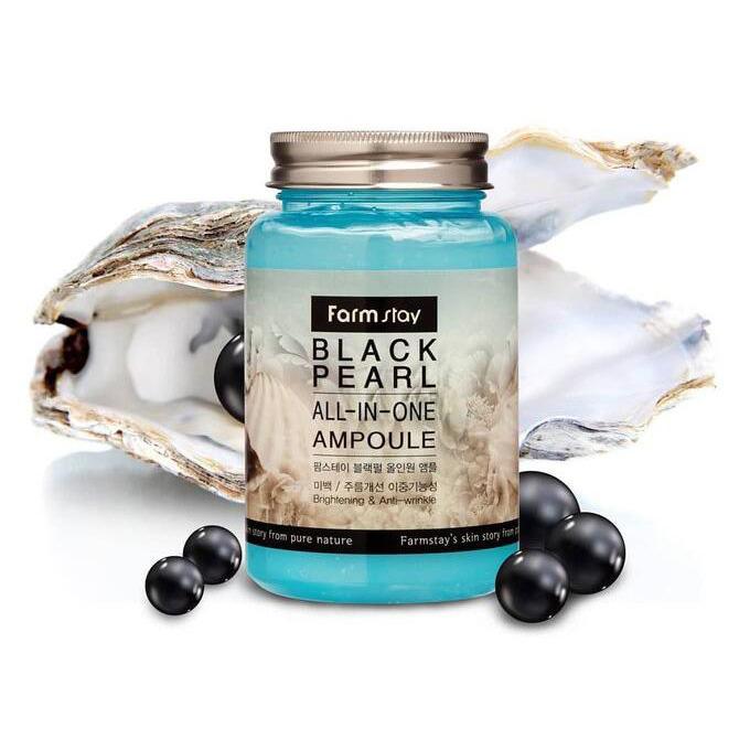 FARMSTAY Black Pearl All In One Ampoule