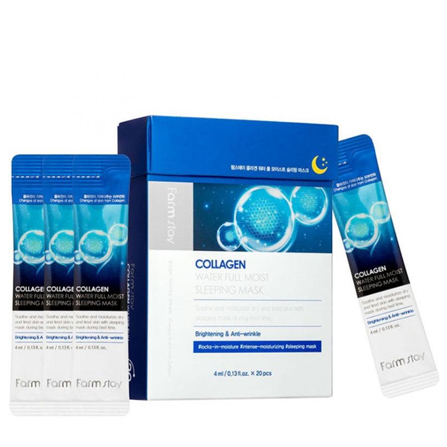 FARMSTAY Collagen Water Full Moist Sleeping Mask