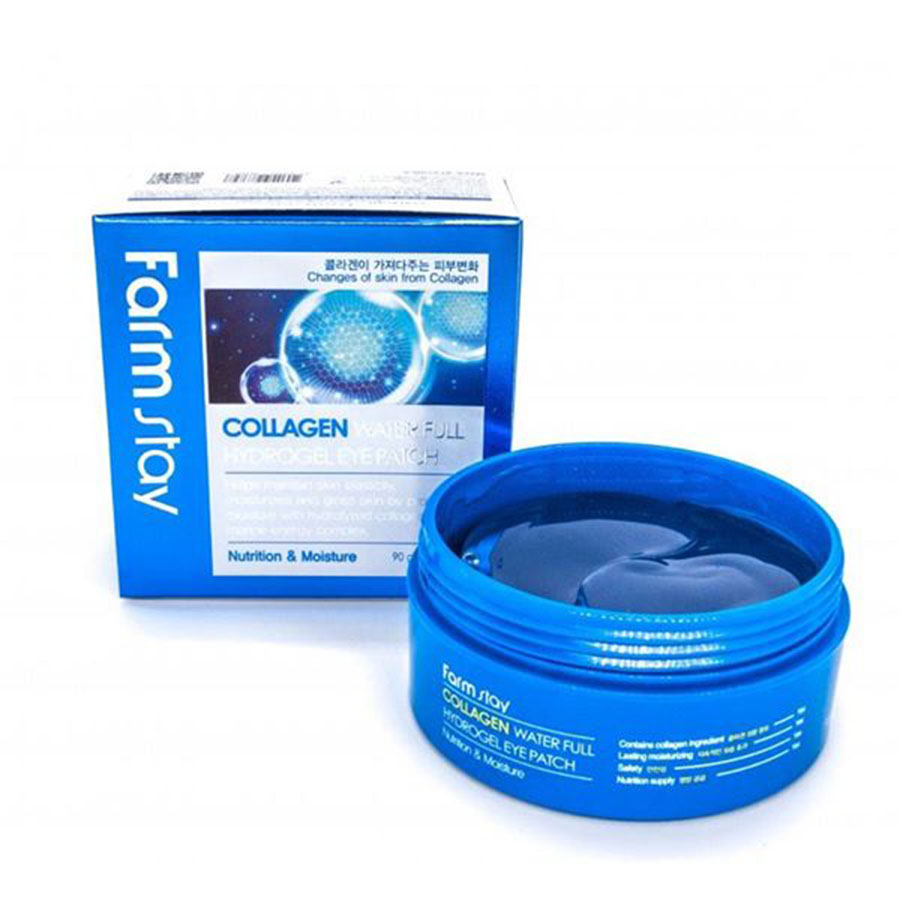 FARM STAY Collagen Water Full Hydrogel Eye Patch