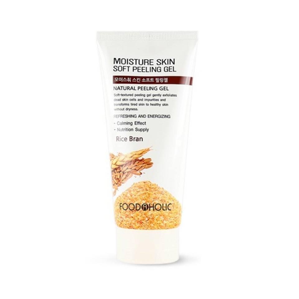 FOOD A HOLIC Moisture Skin Soft Peeling Gel Rice Bran