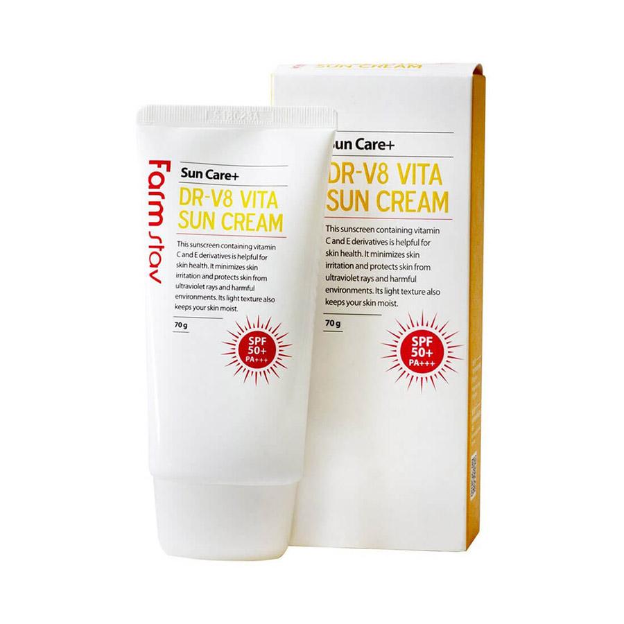Farmstay DR-V8 Vita Sun Cream SPF 50+/PA+++