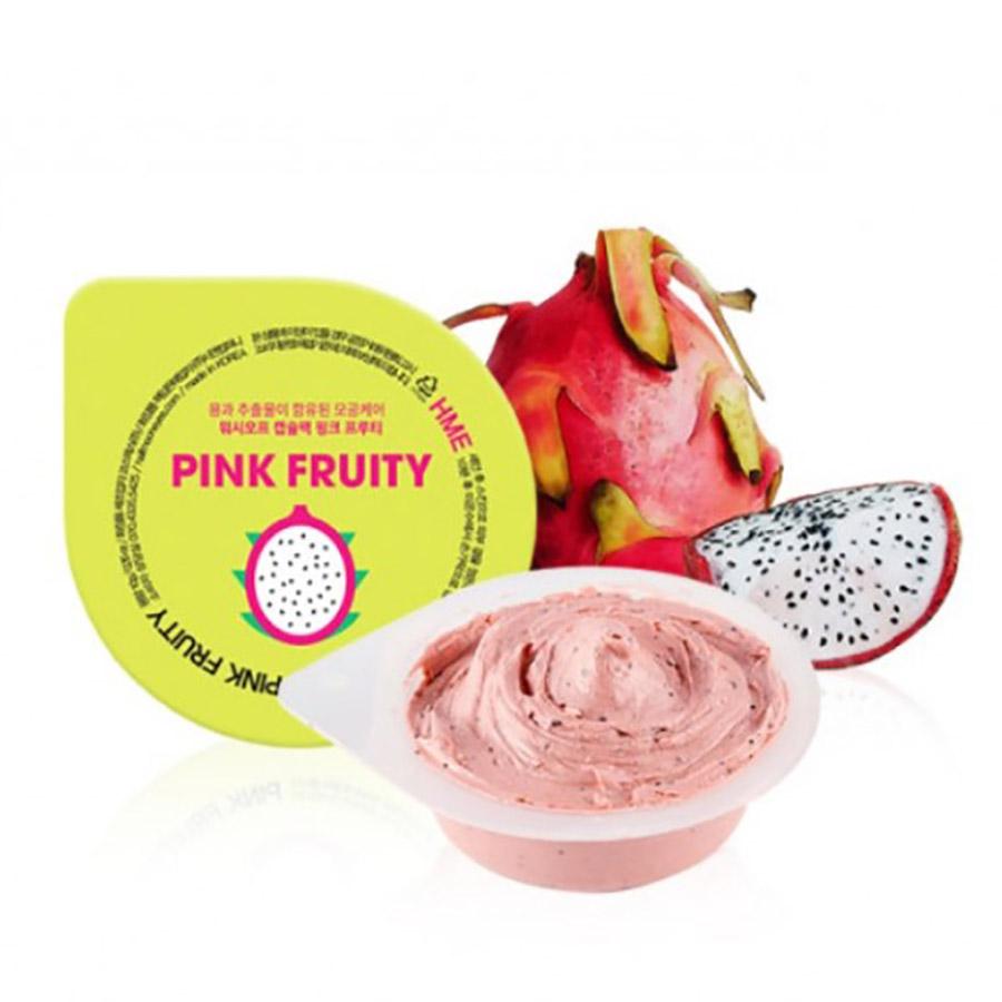 Half Moon Eyes Pink Fruity Mask Pack