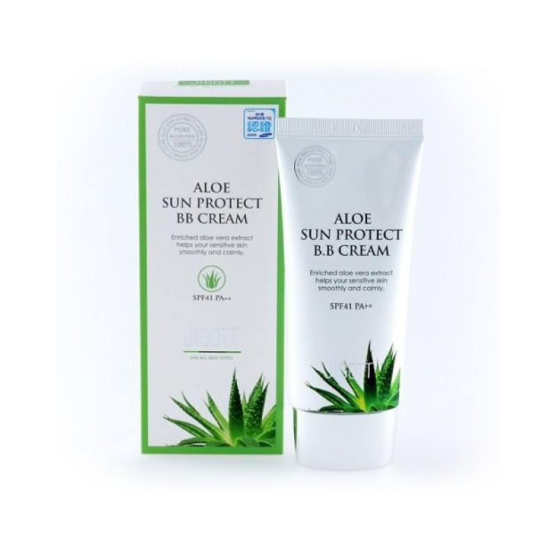 JIGOTT Aloe Sun Protect BB Cream SPF41/PA++
