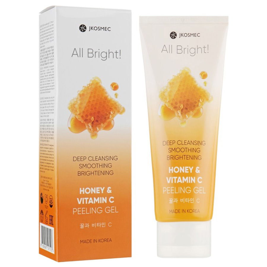 JKosmec All Bright Honey and Vitamin C Peeling Gel