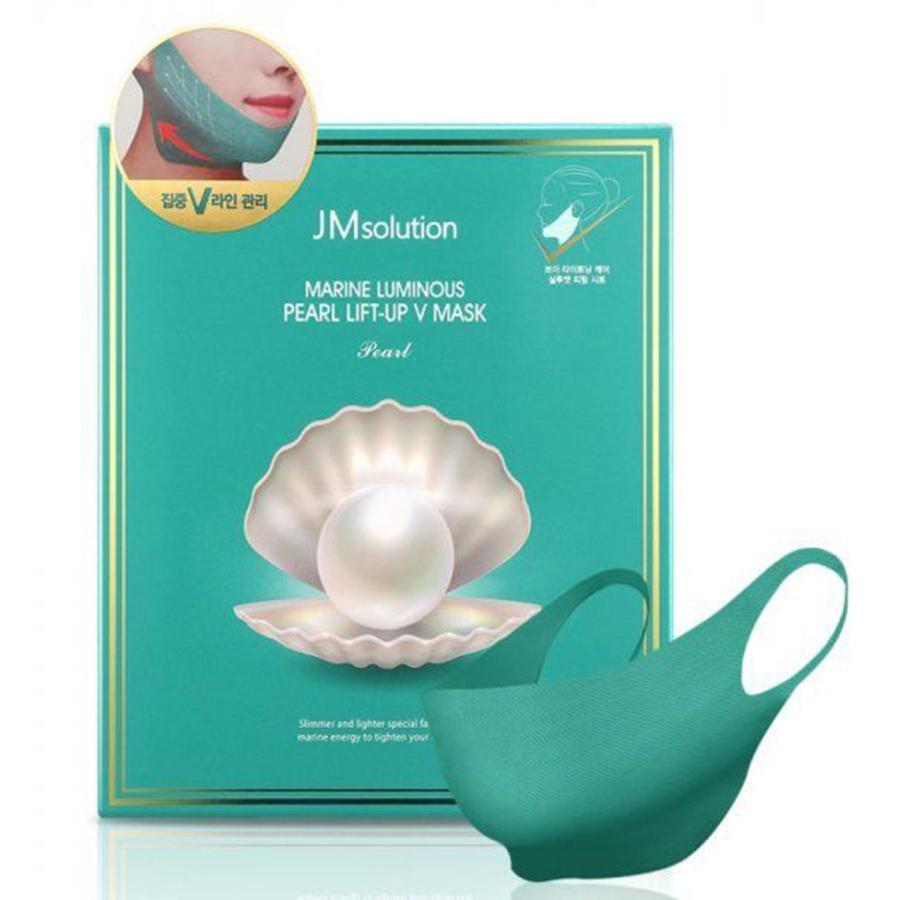 JM Solution Marine Luminous Pearl Lift-Up V Mask