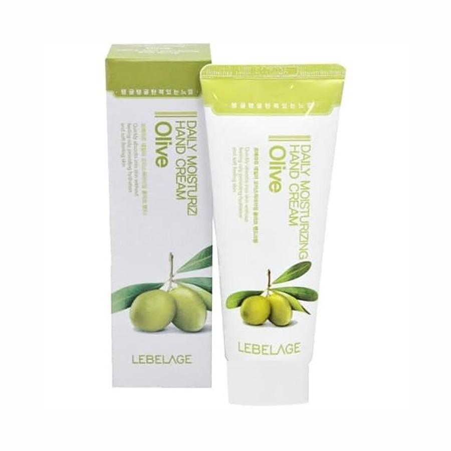 LEBELAGE Daily Moisturizing Olive Hand Cream