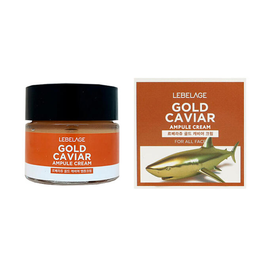LEBELAGE Gold Caviar Ampule Cream