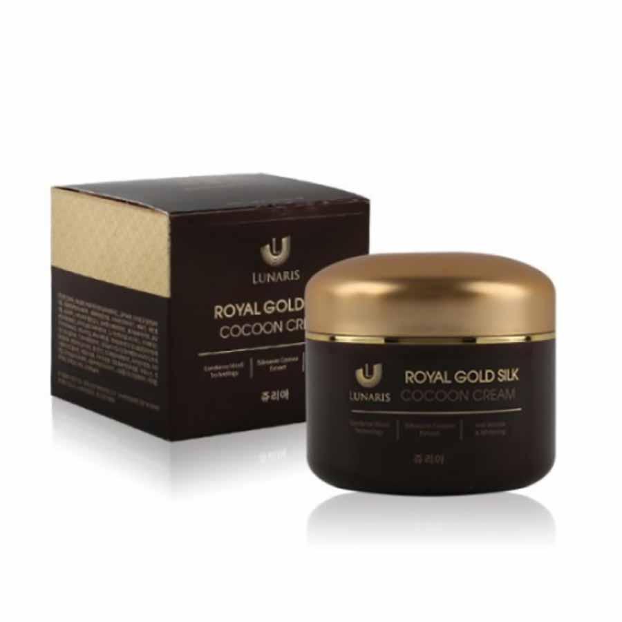 Lunaris Royal Gold Silk Cocoon Cream