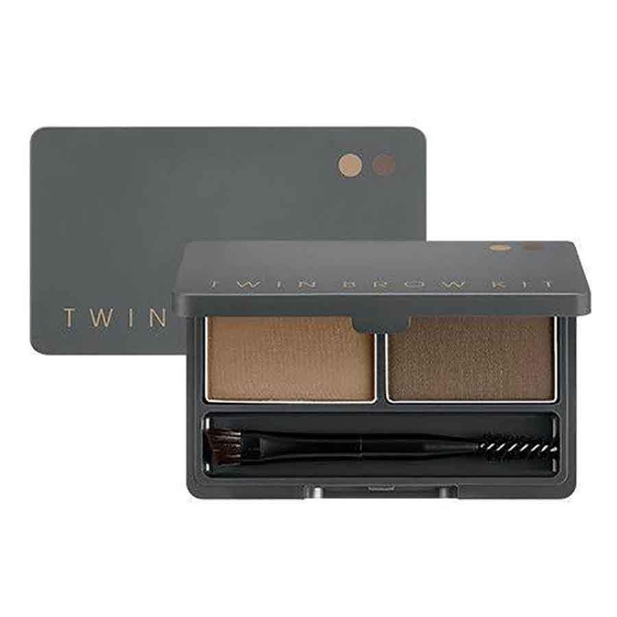 MISSHA Twin Brow Kit #02 Gray Brown