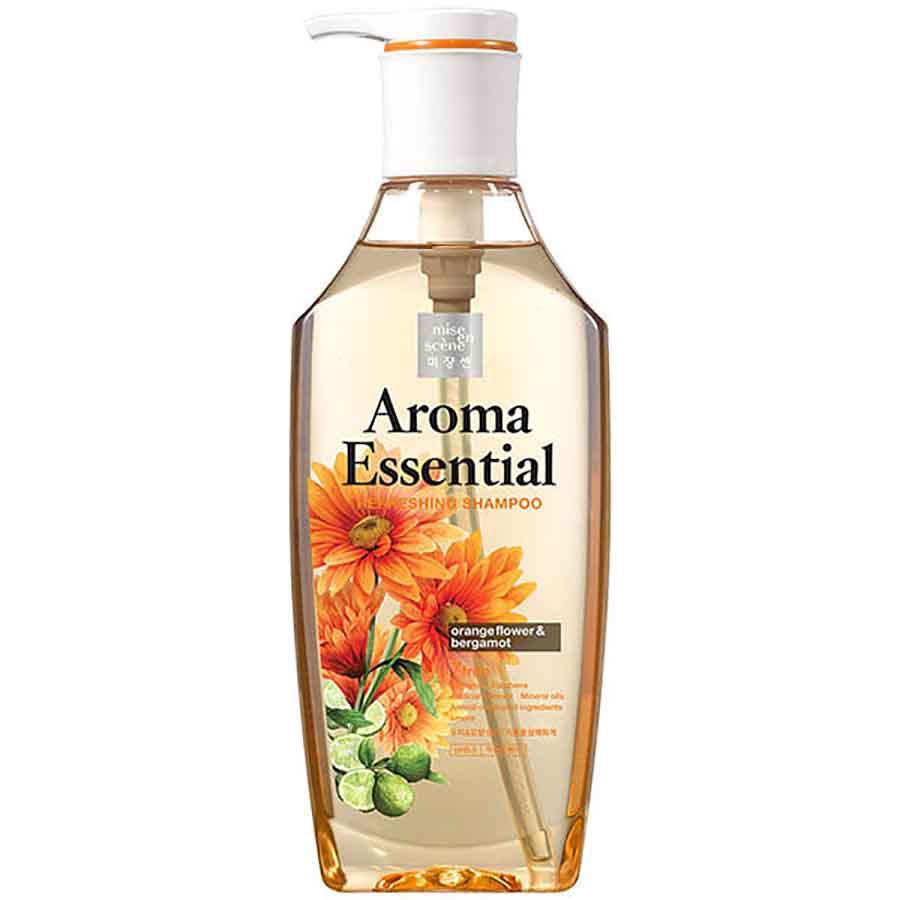 Mise en Scene Aroma Essential Refreshing Orange Flower Shampoo