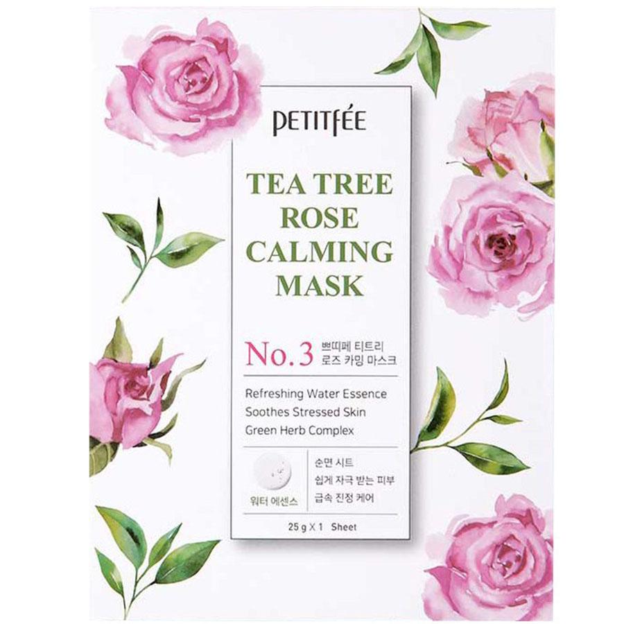 PETITFEE Tea Tree Rose Calming Mask