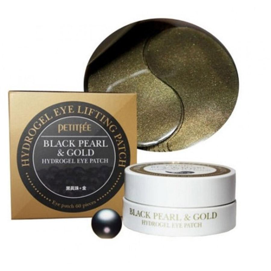 PETITFEE Black Pearl & Gold Hydrogel Lifting Eye Patch