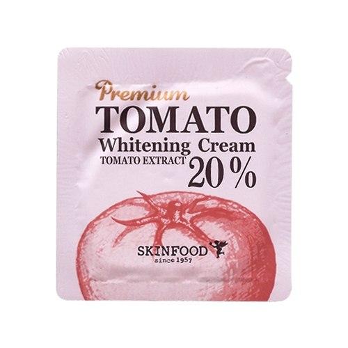 Отбеливающий крем с экстрактом томата