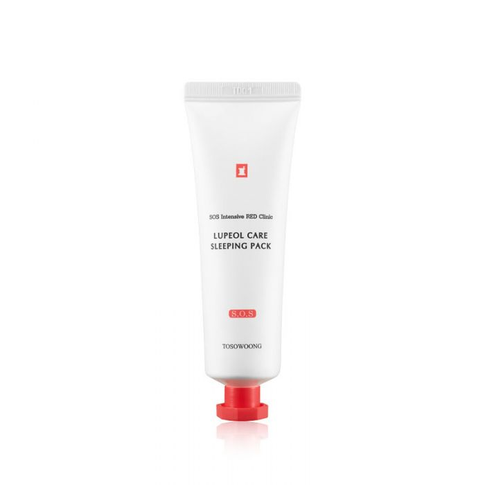 TOSOWOONG SOS Intensive Red Clinic Lupeol Care Sleeping Pack