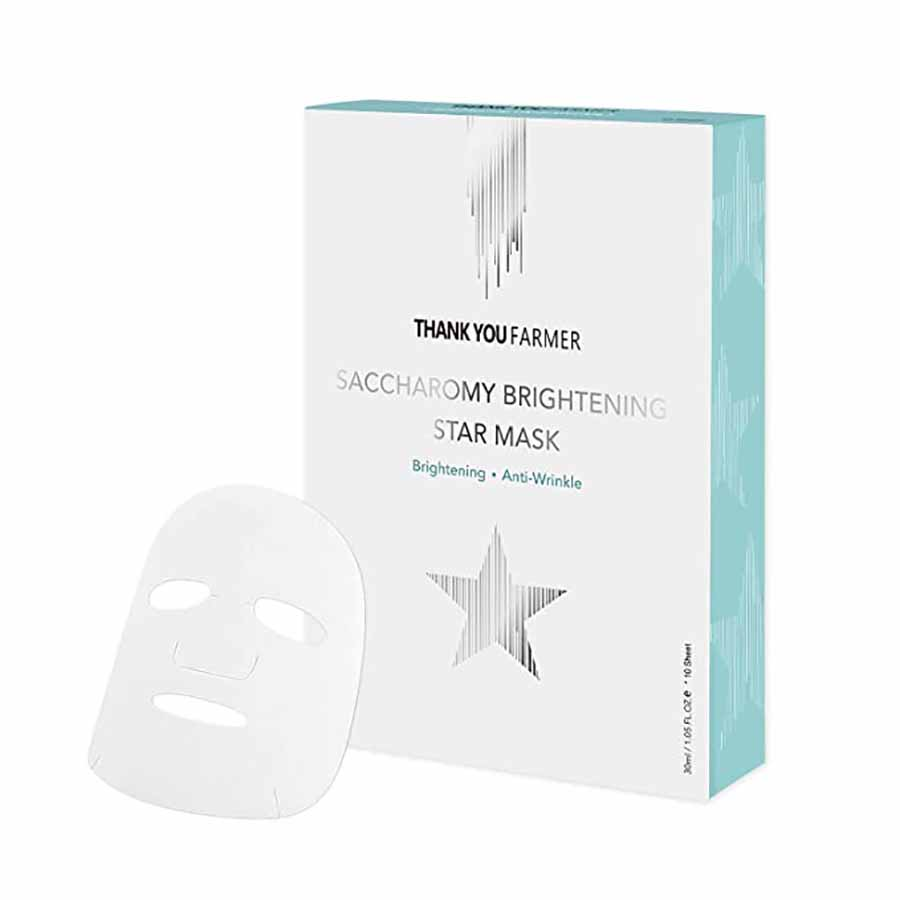 Thank You Farmer Saccharomy Brightening Star Mask