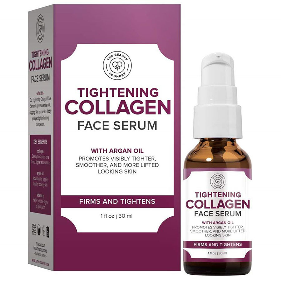 The Beauty Foundry Tightening Collagen Face Serum