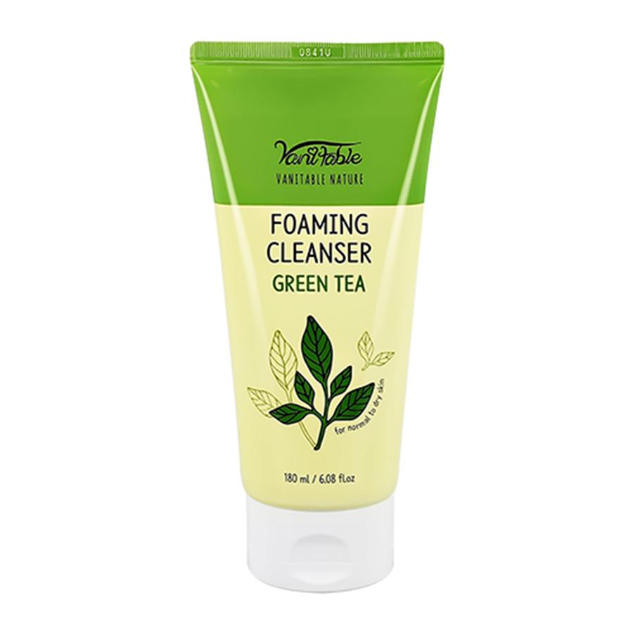 Vanitable Nature Green Tea Foaming Cleanser
