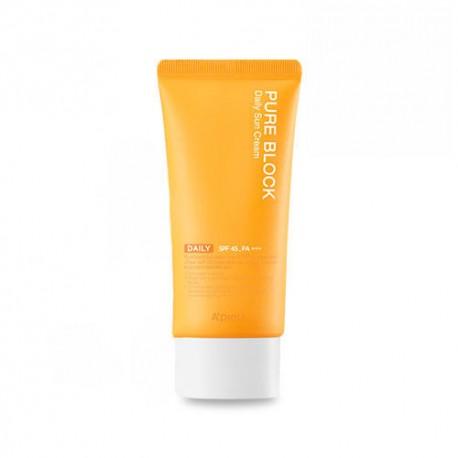APIEU Pure Block Natural Daily Sun Cream SPF45 PA+++