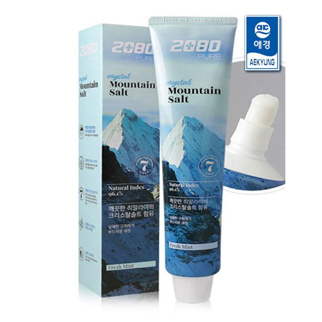 2080 Crystal Mountain Salt Toothpaste, 160g