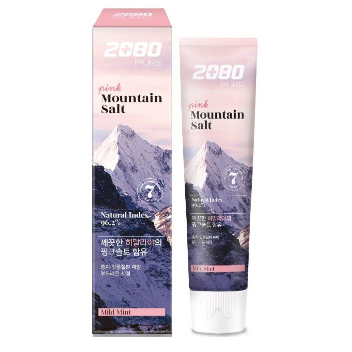 2080 Pink Mountain Salt Toothpaste