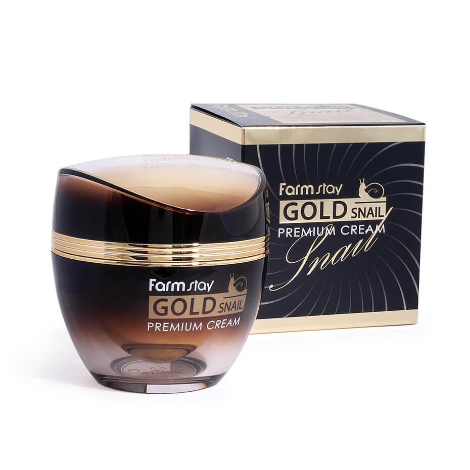 FARM STAY Gold Snail Premium Cream