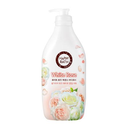 Регенерирующий увлажняющий гель для душа с маслом белой розы, 900мл
