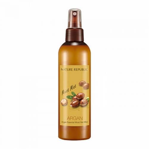 Увлажняющий спрей для волос с аргановым маслом Nature Republic, 220мл