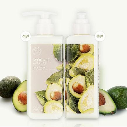Питательный лосьон для тела с авокадо The Face Shop, 300мл