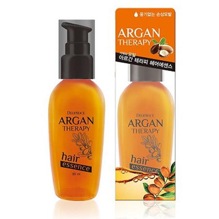 Восстанавливающая эссенция для волос с аргановым маслом Deoproce, 80мл