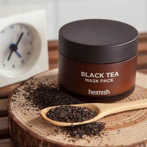Лифтинг-маска против отеков с экстрактом черного чая Heimish, 110мл